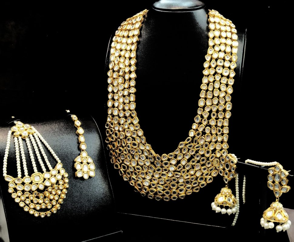 Earrings, kundan jewellery, artificial jewellery